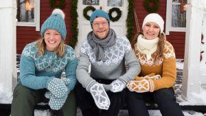 Neulotaan Strömsö-villapaita