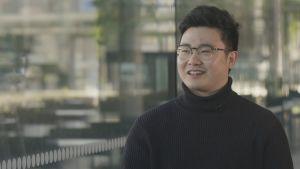 Haastattelussa Han Kim