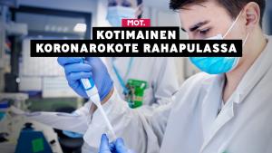 Suomessa kehitteillä olevat koronarokotteet kaipaisivat miljoonainvestointeja.