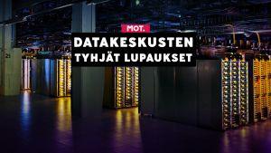 Datakeskukset ovat internetin ydin. Verkonkäytön jatkuva kasvu lisää myös datakeskusten tarvetta.
