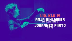 RSO:n konsertti: Anja Bihlmaier & Johannes Piirto