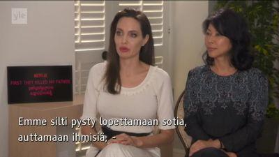 Angelina Jolie porno elokuvaa