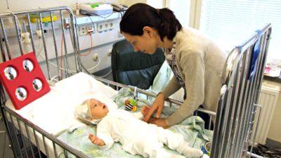 vatsatauti pienellä vauvalla