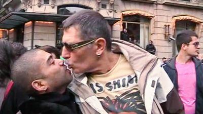Musta Aasian lesbo seksiä