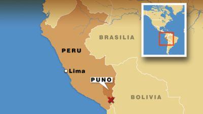 Peru Alueiden Kartta Peru Maakunnat Kartalla Etela Amerikka