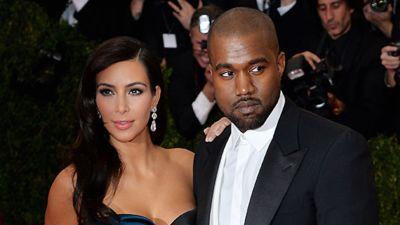 Kim Kardashian ja Kanye West punaisella matolla New Yorkissa 5. toukokuuta  2014. d9089498cd