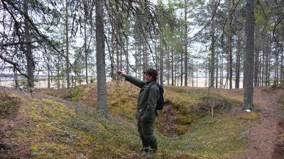 Ruhtinansalmen kyläyhdistyksen puheenjohtaja Eero Seppänen. 404fdb2a65