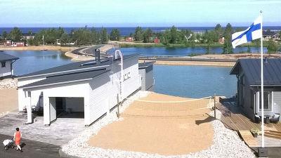 Kuvassa näkymä merelle Kalajoen loma-asuntomessuilta a6f893a4bc
