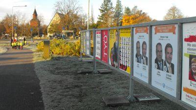 valplakat i Ingå