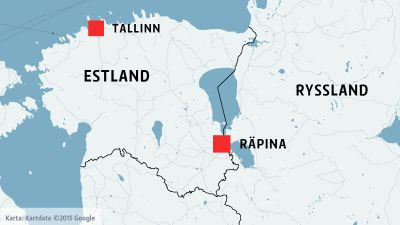 Estland rysk rost i parlamentet