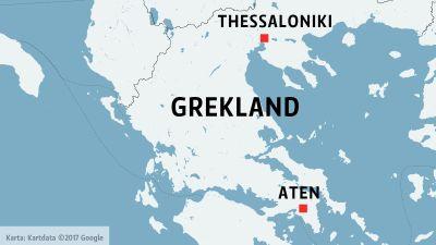 Karta Aten Grekland.Flera Doda I Tagolycka I Grekland Utrikes Svenska Yle Fi