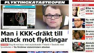Aftonbladet om nattens händelser i Lahtis