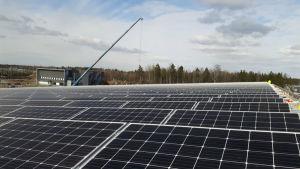 Solkraftverk i Stensböle, Helsingfors