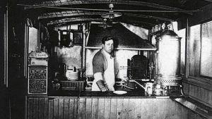 Louis Lassens lunchvagn (bilden tagen 1907-1916)