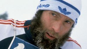 SM-hiihdot Jyväskylässä 1983, hiihtäjä Juha Mieto.