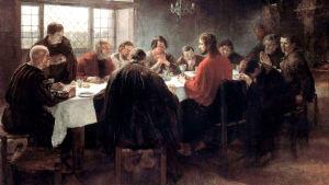 Jesu sista måltid av Fritz von Uhde