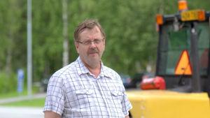 Ragnvald Blomfeldt sitter i tekniska nämnden i Vasa.