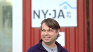 Kenneth Turpeinen, vd på NY-JA i Nykarleby.