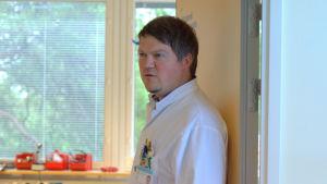 Markus Granholm, överläkare och barnläkare.