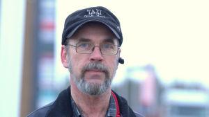 Taxiföretagaren Kjell Ågren i Malax.