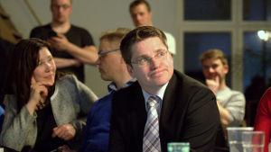 Mikko Ollikainen, SFP, sedan han konstaterat att han inte tog sig in i riksdagen.