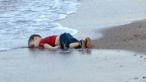 Bilden på 3-åriga Aylan Kurdi som spolats upp på stranden har chockat världen.