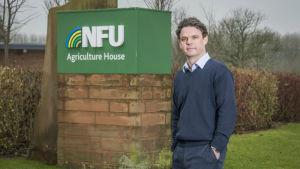 Nick von Westenholz, direktör för EU-utträdet och internationell handel vid National Farmers Union, NFU.