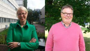 Marina Furuhjelm och Peter Remahl.