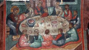 Fresk från Kremitovski kloster