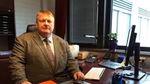 Ålands finansminister Mats Perämaa