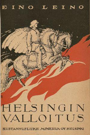 Omslaget till Eino Leinos verk Helsingin valloitus.