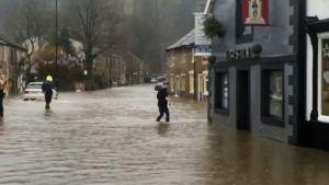 svåra översvämningar i York