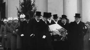 Kyösti Kallion hautajaiset.