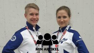 Porträttbild på Miro Ikäheimonen och Sofia Manz.