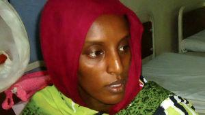 Den dödsdömda sudanesiska kvinnan Meriam Ibrahim