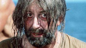 Peter Sellers on merirosvo Dick Scratcher elokuvassa Ghost in the Noonday Sun (kuva dokumentista Peter Sellersin haamu)