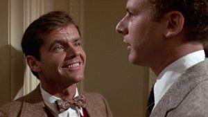 Jack Nicholson ja Art Garfunkel elokuvassa Miehuusvuodet