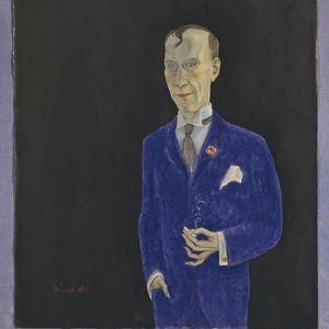 Nils Dardels målning av David Sprengel.