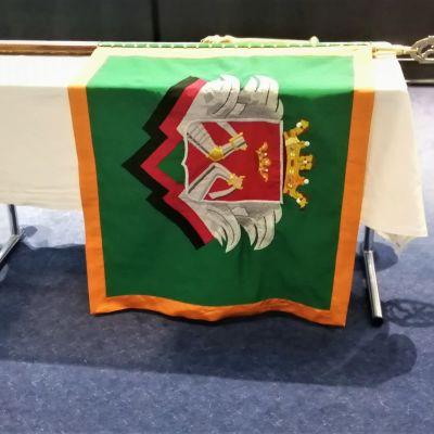 Kaakkois-Suomen rajavartioston uusi lippu