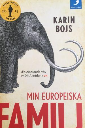 Bokkonvolut - mammut på bilden.