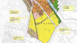 Detaljplanen för Billnäs bruk i Raseborg.