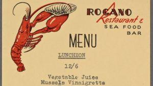 Lunch held by Rogano Restaurant & Sea Food Bar at Rogano Restaurant & Sea Food Bar.