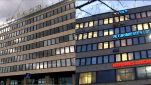 Södra kajen 10 och Fackcentralens hus i Hagnäs