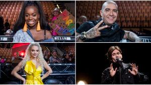 Artister som gick vidare från Andra chansen i Melodifestivalen 2018