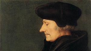 Oljemålning av Erasmus av Rotterdam 1523.
