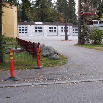 Utfarten vid FBK i Grankulla.