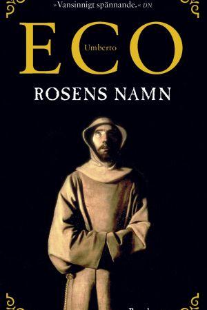 Pärmen till Umberto Ecos Rosens namn, 1983