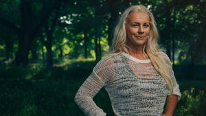 Operasångerskan och miljöaktivisten Malena Ernman. 2018.