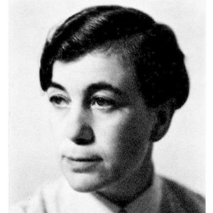 Författaren Agnes von Krusenstjerna.