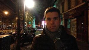 Svenska Yles europakorrespondent Daniel Olin på plats i Paris morgonen efter attackerna